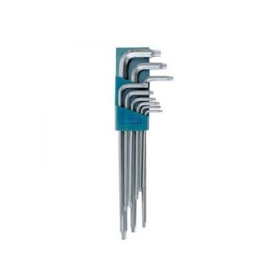 סט מפתח TORX + חור ארוך 9 יחידות Signet
