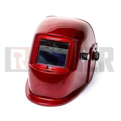 מסכת ריתוך אלקטרונית אדום ROHER-TOOLS
