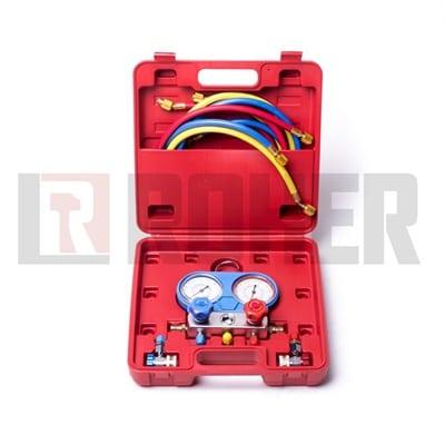 ערכה לבדיקת גז מזגנים 134 ROHER-TOOLS 1051A