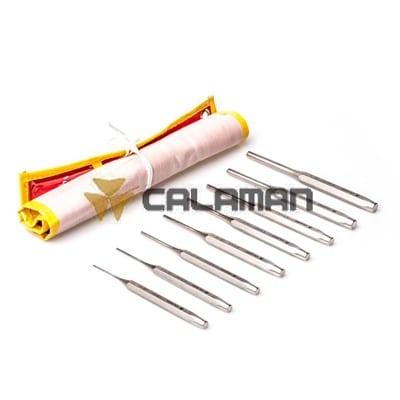 סט דרנים מקצועי 8 יחידות CALAMAN