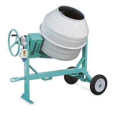 """מערבל בטון בנזין 350 ליטר תוצרת איטליה IMER, משקל:186 ק""""ג"""