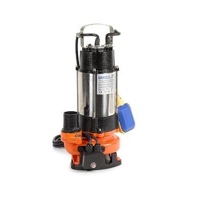 משאבה מים טבולה נירוסטה/יציקה לביוב PREMIUM LUC V750F