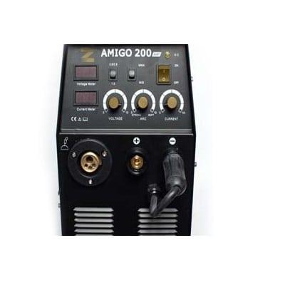 רתכת לריתוך באמצעות סלילים מזין פנימי וריתוך באמצעות אלקטרודהZIKA MIG-200