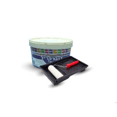 צבע דנבר קריל 3000 5 ליטר + מגש עם רולר