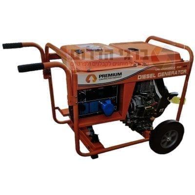 גנרטור דיזל פתוח ומושקט LAU LDG6000CLE Premium
