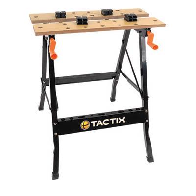 שולחן עבודה מלחציים לנגר החובב – TACTIX 330001