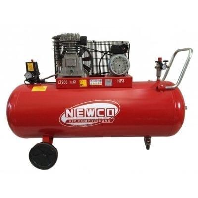 """מדחס 200 ליטר 3 כ""""ס 400V תוצרת NEWCO N3200C3TK"""