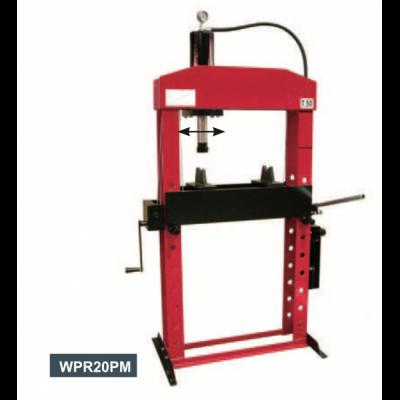 מכבש הידראולי 30 טון גבוה 2 מהירויות עם מנואלה איטלקי – WERTHER WPR30PM