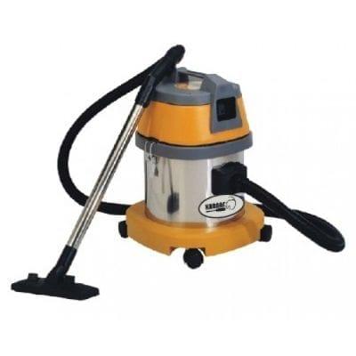 שואב אבק 15 ליטר יבש/רטוב מיכל נירוסטה – KARNAF BF500