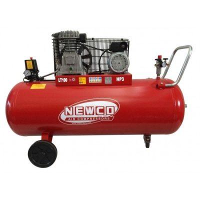 """מדחס 100 ליטר 3 כ""""ס 400V תוצרת איטליה – NEWCO N2.8S1003TK"""