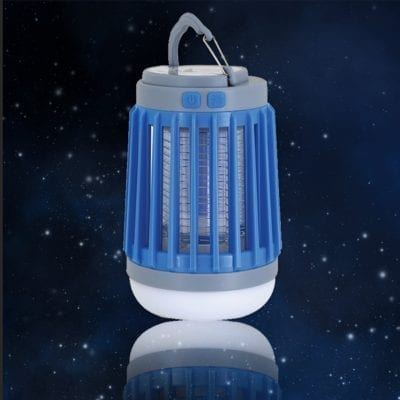 מנורת קמפינג נטענת + קטלן חרקים גחלילית SM-6050R