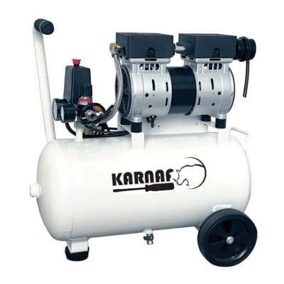 """מדחס ללא שמן 24 ליטר 1 כ""""ס KARNAF TAT-1525"""